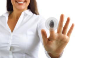 Sicherheit durch Fingerabdruck