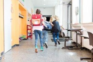 Viele Schulen bei einem Brand hilflos